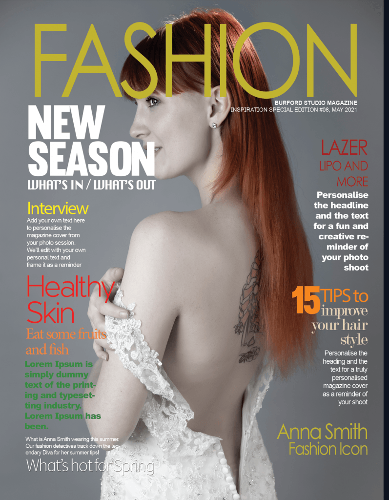 Model Experience Magazine Cover